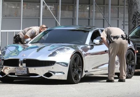 Justin Bieber - Bieber got pulled over not once, but TWICE(!!) by CHP officers for speeding in Los Angeles, California on July 6, 2012
