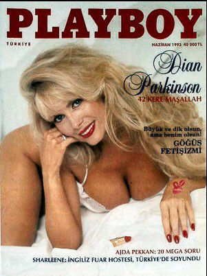 Dian Parkinson - Playboy Magazine Cover [Turkey] (June 1993)