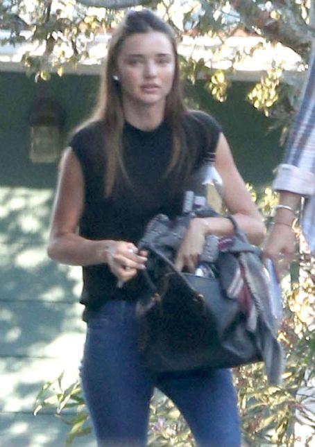 Miranda Kerr Leaving A Gym In La