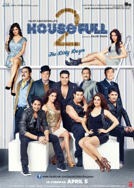 Zarine Khan - House Full 2 Latest New posters 2012