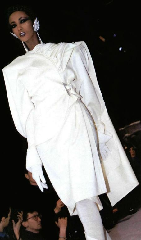 Iman for Mugler