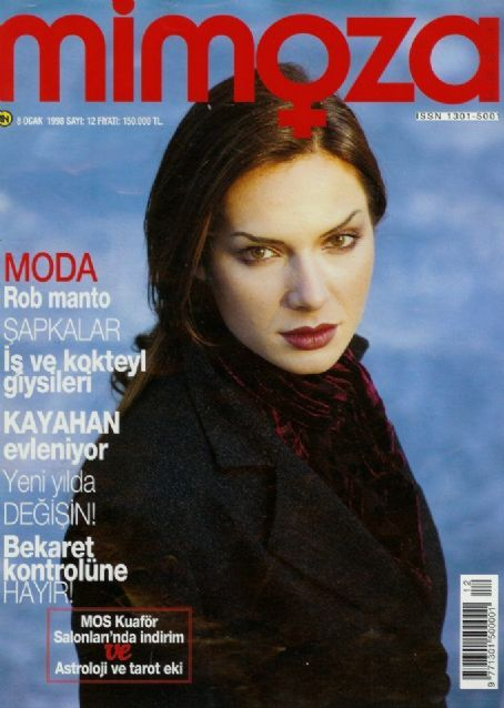 Eysan Özhim - Mimoza Magazine Cover [Turkey] (January 1998)