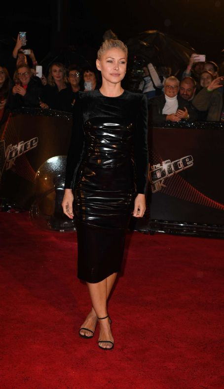 Emma Willis – The Voice UK Blind Auditions in Manchester