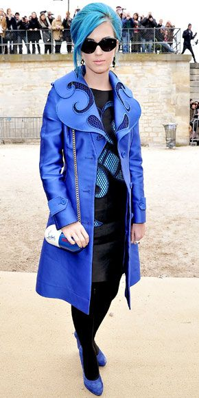 Katy Perry at the Viktor & Rolf Ready-To-Wear Fall/Winter 2012 show