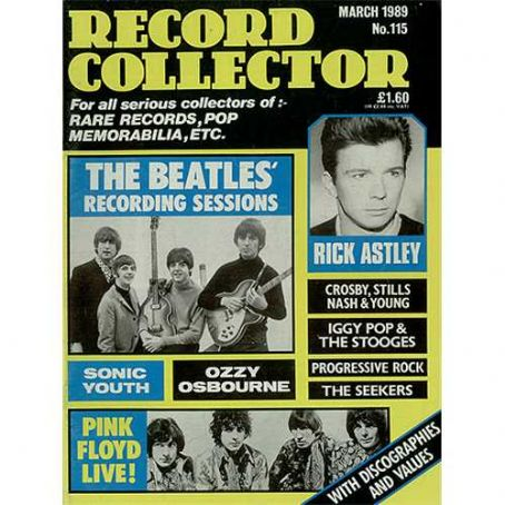 Ringo Starr - Record Collector Magazine [United Kingdom] (March 1989)