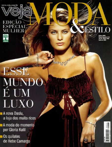 Isabeli Fontana - Veja Magazine Cover [Brazil] (April 2005)