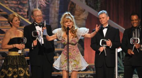 The Love Boat The cast of Love Boat with Charo at The TvLand Awards