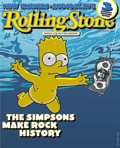 Bart Simpson - Rolling Stone Magazine [United States] (28 November 2002)