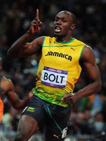 Usain Bolt Wins Gold Medal For Men's 100m At Olympic 2012