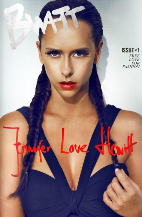 Jennifer Love Hewitt - Bwatt Magazine Cover [United States] (April 2012)