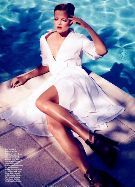 Eniko Mihalik - Allure UK - May, 2012