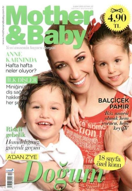 Mother & Baby Magazine Cover [Turkey] (February 2010)