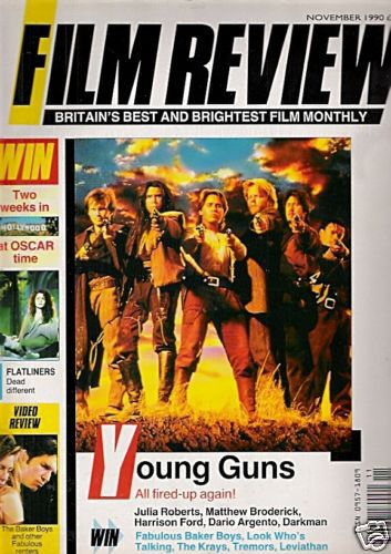 Christian Slater - Film Review Magazine [United Kingdom] (November 1990)