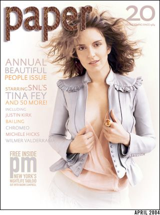 Tina Fey - Paper Magaz...