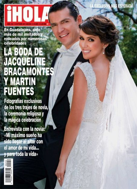 Jacqueline Bracamontes - Hola! Magazine Cover [Mexico] (12 October 2011)