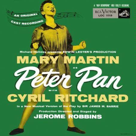Peter Pan  1954 Broadway Musical, jule styne,