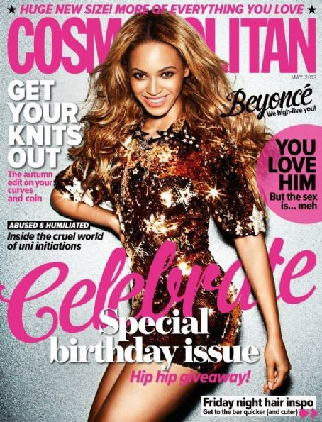 Beyoncé Knowles - Cosmopolitan Magazine Cover [Australia] (May 2013)