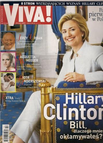 Hillary Rodham Clinton - VIVA Magazine Cover [Poland] (14 June 2003)