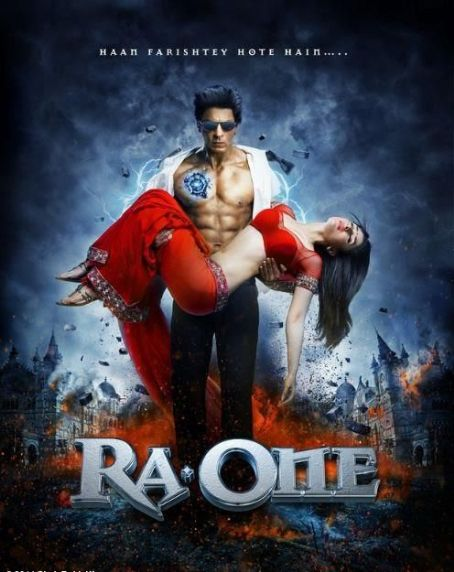 Ra.One Official poster of  released