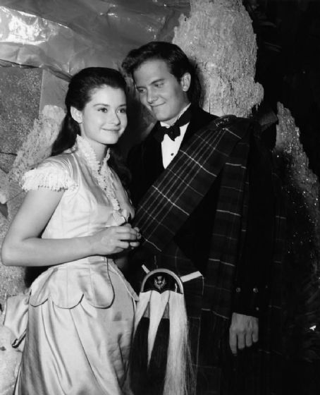 Diane Baker and Pat Boone