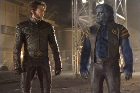 Dr. Henry 'Hank' McCoy Hugh Jackman as Logan/Wolverine and Kelsey Grammer as Dr. Henry 'Hank' McCoy ( The Beast) in X-Men: The Last Stand (2006)