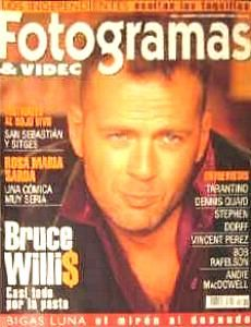 Bruce Willis - Fotogramas Magazine [Spain] (November 1996)