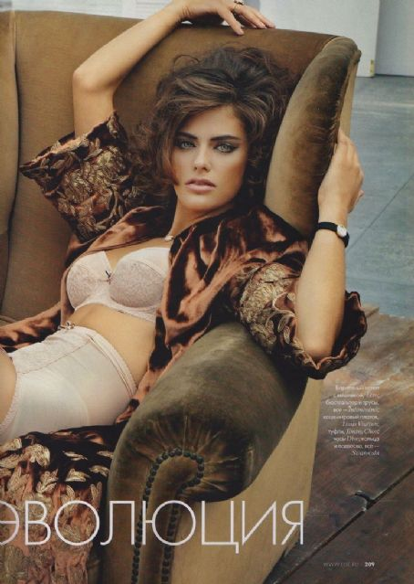 Alyson Le Borges  Hot In Elle Russia February 2011