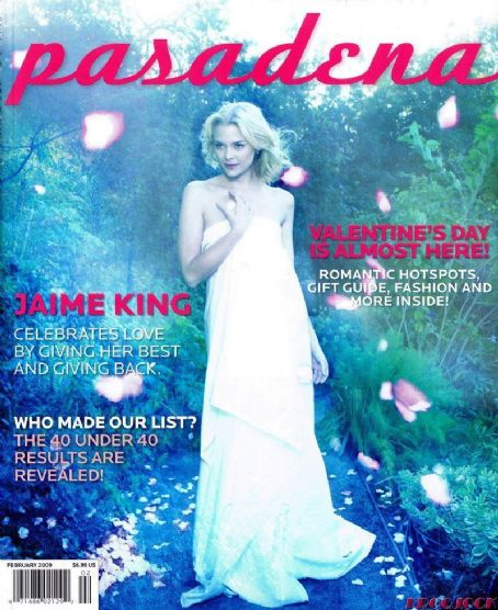 Jaime King - Pasadena Magazine Cover [United States] (February 2009)
