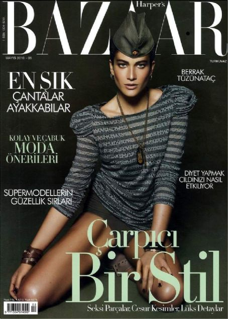 Berrak Tüzünataç - Harpers Bazaar Magazine Cover [Turkey] (May 2010)