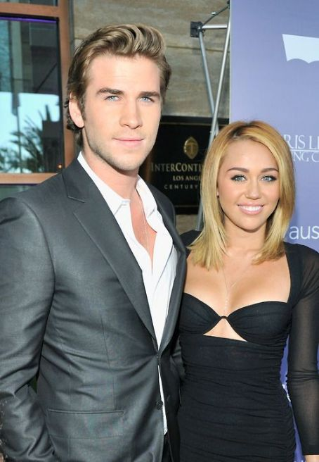 Liam Hemsworth was honored at the Australians In Film Awards & Benefit Dinner held tonight, June 27 at the InterContinental Hotel in Century City. He was given the Breakthrough award. Miley Cyrus also attended the event