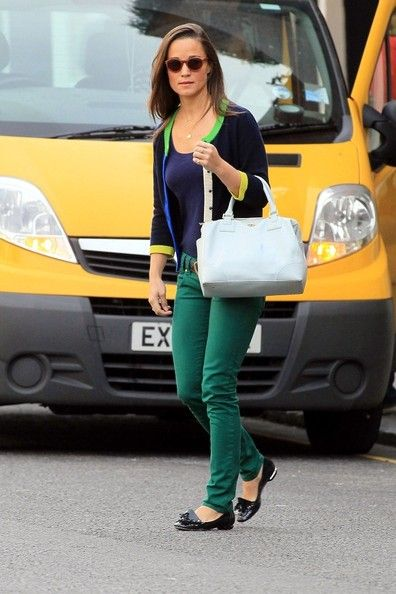 Pippa Middleton: in London