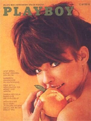 Sissy - Playboy Magazine Cover [Germany] (October 1972)
