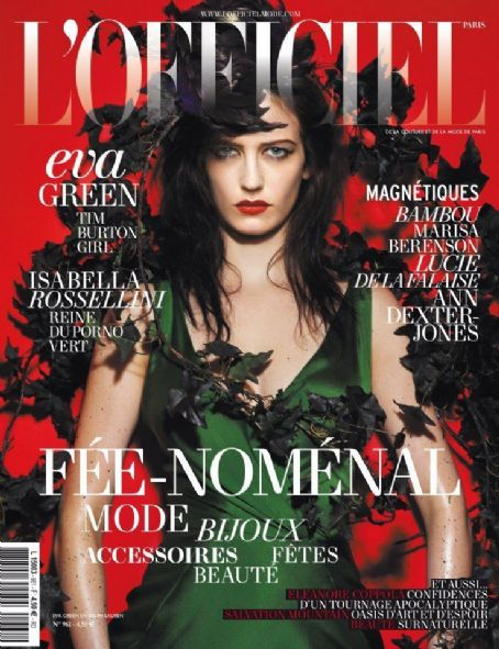 Eva Green - L'Officiel Magazine Cover [France] (December 2011)