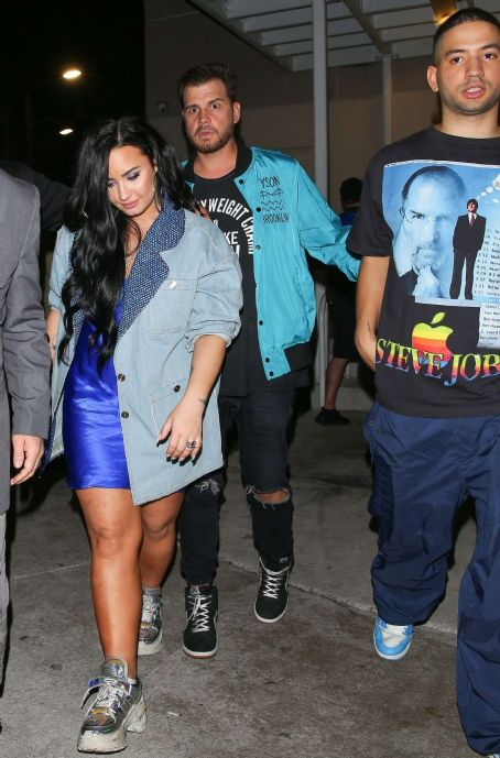 Demi Lovato at E11EVEN Nightclub in Miami