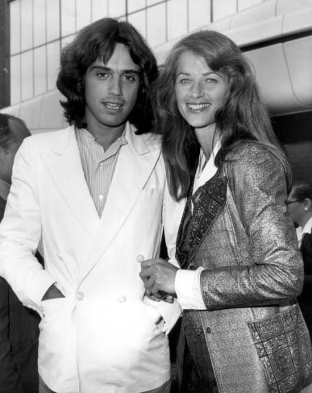 Jean-Michel Jarre and Charlotte Rampling