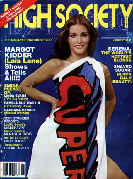 Margot Kidder - High Society Magazine [United States] (January 1980)