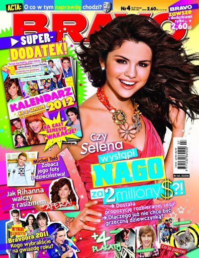 Selena Gomez - Bravo Magazine Cover [Poland] (14 February 2012)