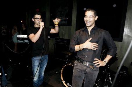 Wilmer Valderrama celebrates his birthday with Joe Jonas
