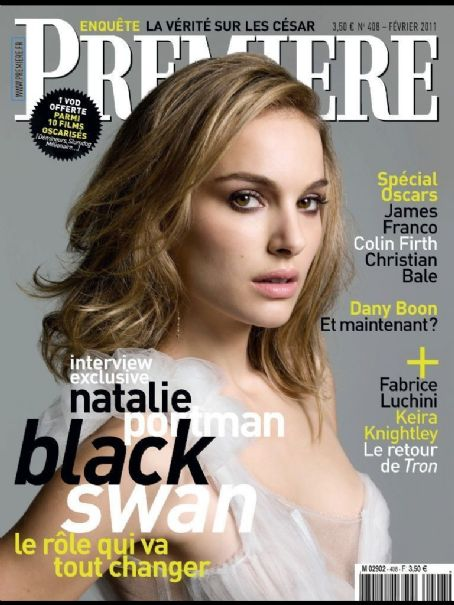 Natalie Portman - Premiere Magazine Cover [France] (February 2011)