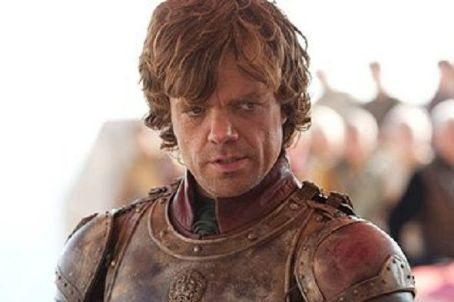 Peter Dinklage in the TV show Game of Thrones