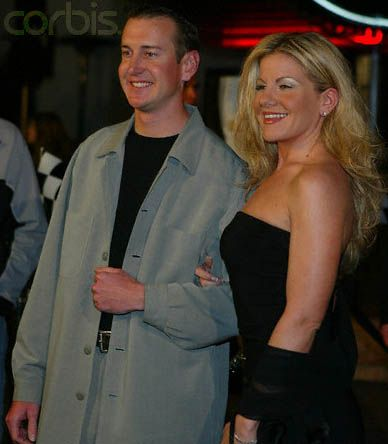 Kurt Busch  and Eva Bryan