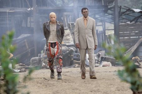 xXx Vin Diesel and Samuel L. Jackson in Columbia's XXX - 2002