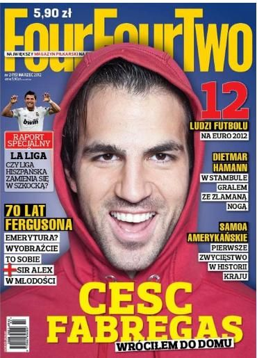 Four Four Two Magazine Cover [Poland] (March 2012)