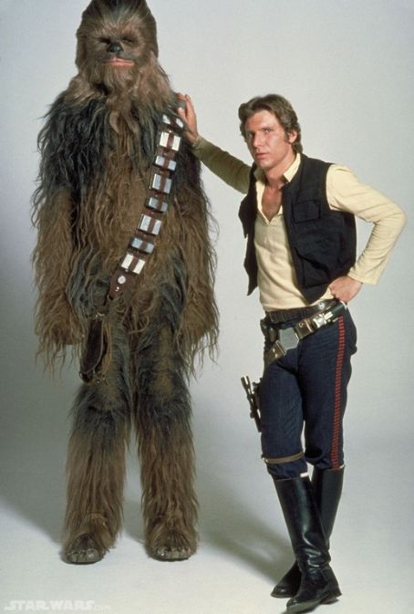 Peter Mayhew Han Solo And Chewbacca Picture