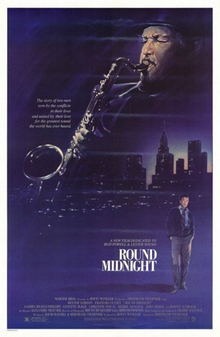 'Round Midnight (1986) Poster