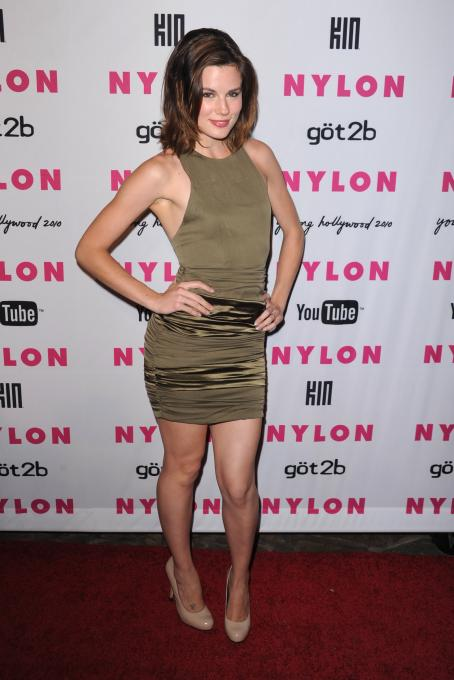 Chelsea Hobbs  - NYLON & YouTube Young Hollywood Party At The Roosevelt Hotel On May 12, 2010 In Hollywood, California
