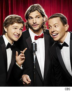 Jon Cryer, Ashton Kutcher & Angus T. Jones Talk 'Two and a Half Men' Season 9 (VIDEO)