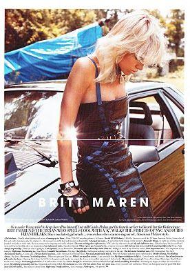 Britt Maren  - RUSSH Magazine Pictorial [Australia] (November 2011)