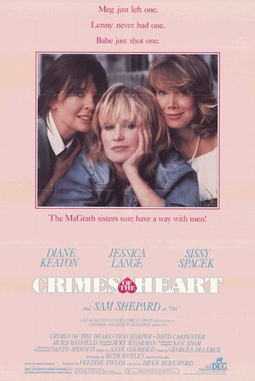 Crimes of the Heart (1986) Poster