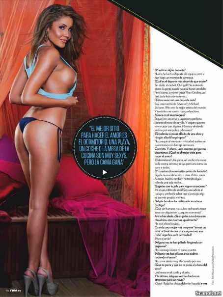 Davina Rankin  Fhm Spain December 2012